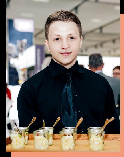 Buchen Sie bei ucm.agency kompetentes Gastronomie-Personal für gehobenen Service auf Ihrem exklusiven Event