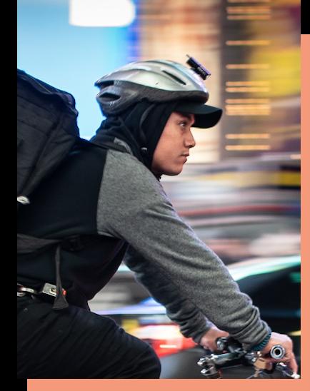 Fahrradkuriere von ucm.agency