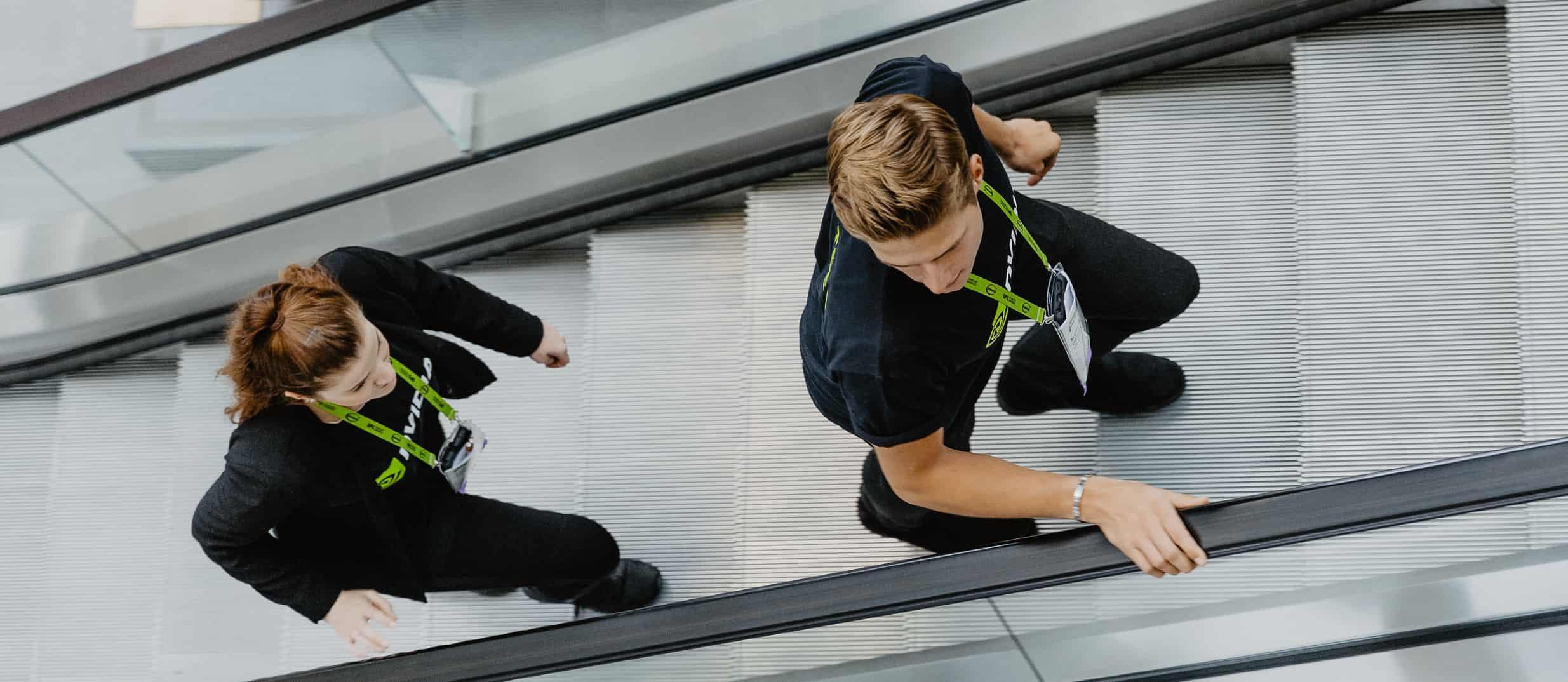 Schnelle, fleißige und selbstständige Runner von ucm.agency sichern einen reibungslosen Ablauf Ihrer Veranstaltung