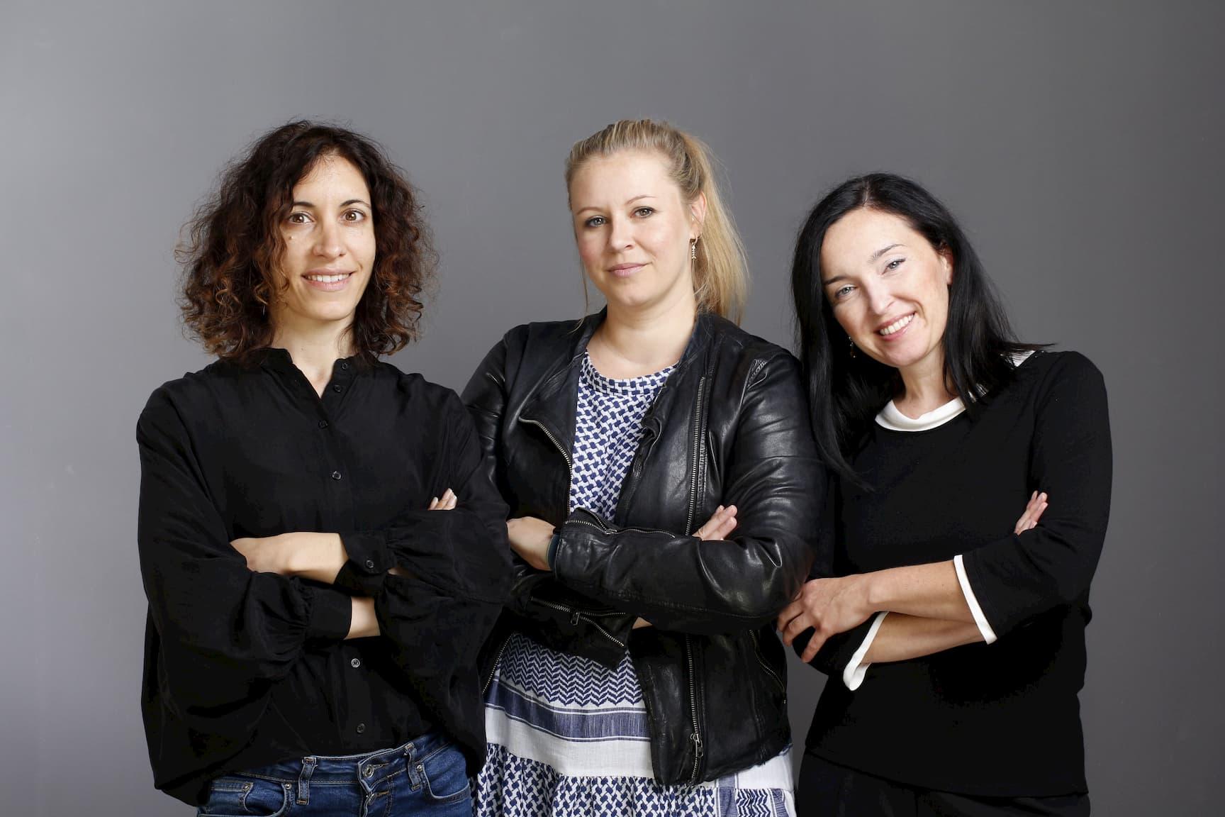 Weibliche Führungskräfte von ucm.agency - Inbal, Nadine & Anna